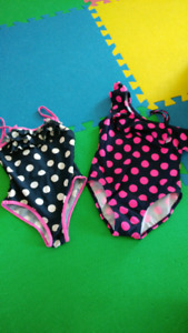 Girls bathing suits (size 5)