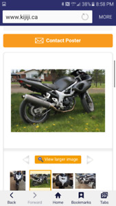 2000 sv 650 for trade