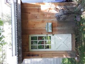 Garden Shed - Barnboard  Solid Wood