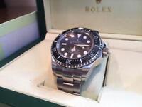Mens Rolex DeepSea Swiss ETA 2836