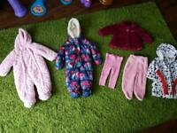 Girls clothing bundle. 6-9 months. 7 items. Like new.