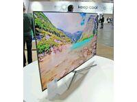 "Samsung UE55KU6400 55"" 4K HDR Ultra-HD Smart LED TV 1600 PQI screen mirror."