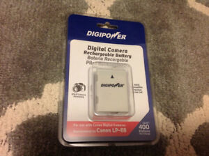 Canon Rebel battery, new