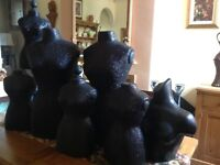 Various Mannequins. Sizes 45cm-100cm. 7 in total.