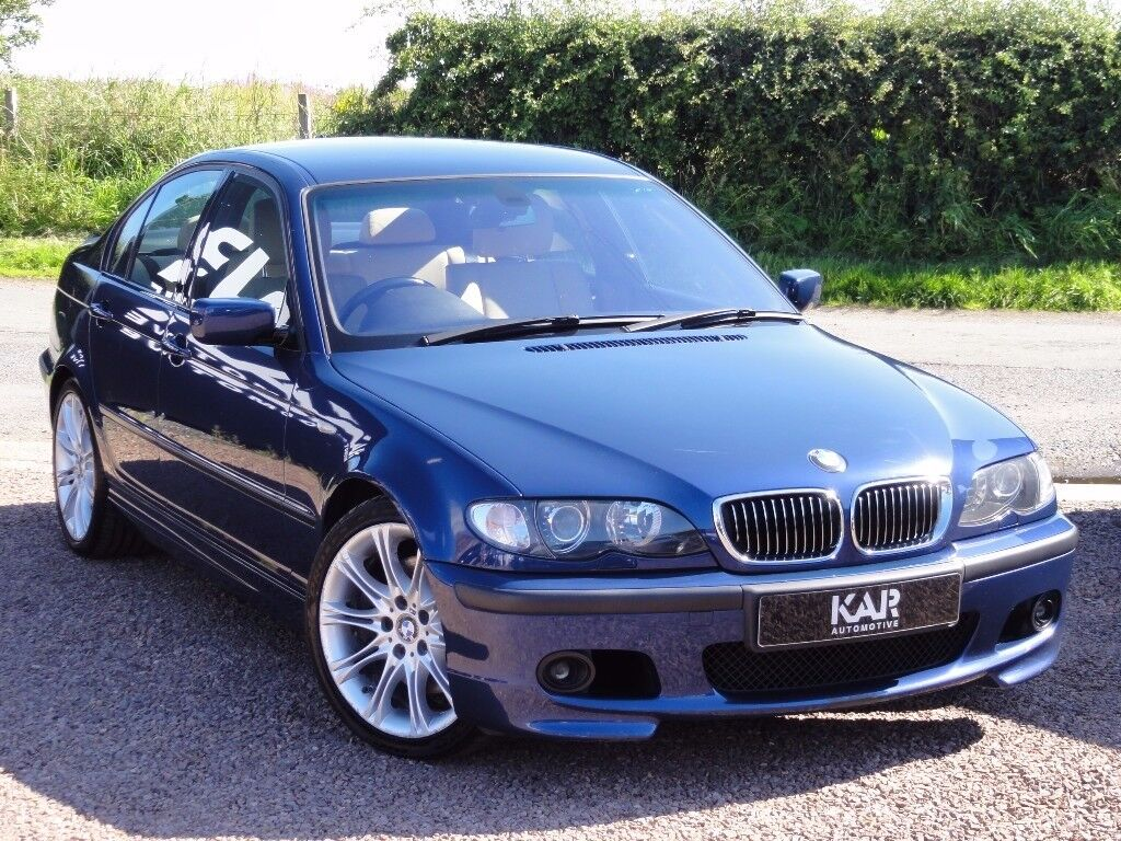 bmw e46 330i m sport saloon auto 2003 03 reg fsh 80k. Black Bedroom Furniture Sets. Home Design Ideas