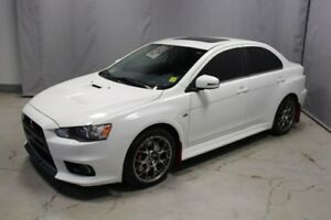 2015 Mitsubishi Lancer Evolution AWC EVOLUTION MR Leather,  Sunr