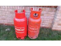 19 kilos propane calor gas bottle full! 2 bottles available