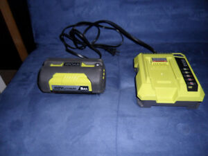 RIOBY, LITHIUM ION, 40V.CHARGER