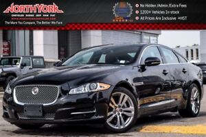 2014 Jaguar XJ AWD|V6 Supercharged|Heated & Vntd Seats|Leather|M