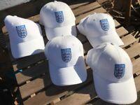 5 Brand New England Baseball Caps