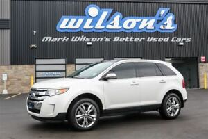 2014 Ford Edge LIMITED AWD! LEATHER! NAV! PANORAMIC SUNROOF! $88