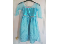 Bundle Fancy Dresses size 2 to 4, Frozen Elsa, Princess, Fairy, Hello Kitty, Great Used Condition