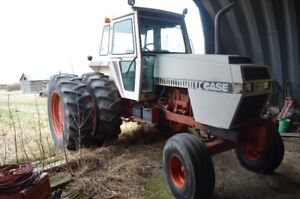 2390 Case tractor and machinery - farm liquidation