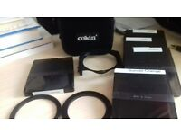 Cokin Polarising Filter and various coloured Cokin Filters in Original Cokin Case.