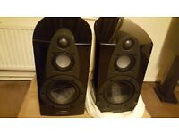 "Wharfedale Jade 1 Piano Black High Gloss/ 120 watts 6 ohm ""Boxed Mint"""