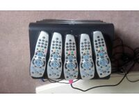 5 x sky+ hd boxes.2 x wi-fi.all with remotes all working perfectly