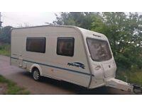2004 Bailey Ranger 470/4 Cris registered 4 berth caravan