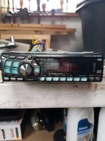 Alpine CD radio with aux input
