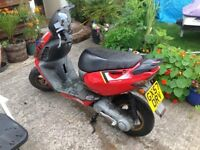 Aprilia sonic gp special edition 57 reg runs and drives