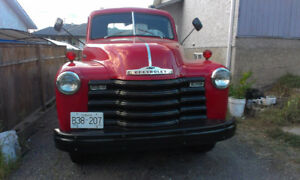 1948  CHEVY Classic Flatbed Truck  Everything is Original!