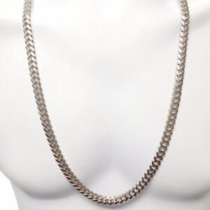 miami cuban link .925 silver solid neuf