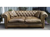 Chesterfield auntie three seater sofa