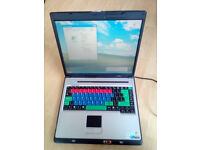 RM One 945 laptop, Intel Core Duo, 1GB RAM, 40GB HDD, Windows XP, charger