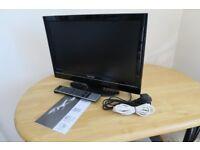 "Toshiba 19"" Digital Freeview Colour TV"