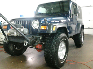 Jeep rubicon 2005