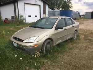 Ford Focus for repair or parts