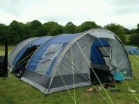 Kyham Montreal 500 with groundsheet and carpet