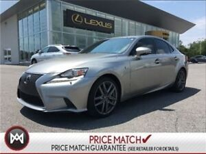 2014 Lexus IS 250 AWD F SPORT EXECUTIVE PACKAGE