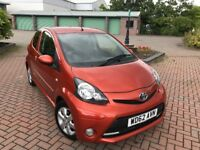 2013 Toyota Aygo 1.0 Petrol Fire 🔥 Only 30k Miles - Long Mot - New Shape - Free Tax- C1 Picanto 107