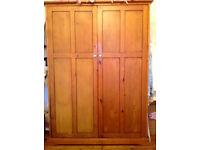 Wardrobe Solid Wood (Mama's & Papa's) (used)