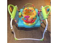 Fisher Price Jumperoo Step-n-play baby bouncer / play station