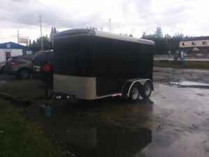 ENCLOSED CARGO TRAILER 12 X 6! GREAT CONDITION