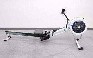 NEW JUST ASSEMBLED GRAY CONCEPT 2 MODEL D ROWER - PM5