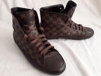 Louis Vuitton Casual High-Top Shoes UK9.5