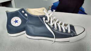 New Converse Allstar Navy Leather