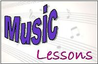 Music Lessons Monday Through Saturday