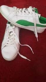 Puma march trainers - size 9