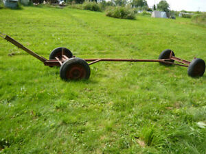 Metal trailer frame for sale - good condition