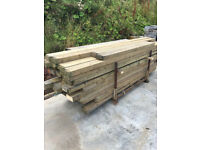 A Selection of wood various sizes and lengths 3 pallets