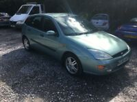 2000 Ford Focus 1.8cc new mot