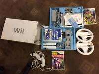 Nintendo wii console with games boxed good condition