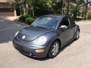 SOLD -2003 Volkswagen Beetle - ONLY 188K! Certified only $2500!!