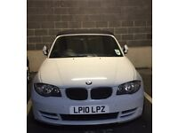 BMW 118i Sport White Convertible Automatic Car