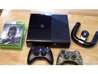 Wanted - Xbox 360 with Modern Warfare 2 (MW2)