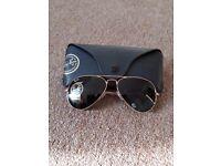 Ray Ban Aviator Sunglasses **GENUINE**