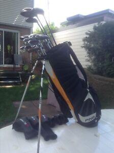 Ensemble de golf droitier pour homme